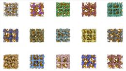 Porous crystals for natural gas storage