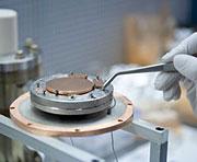Researching niobium gilding in bid for better beams