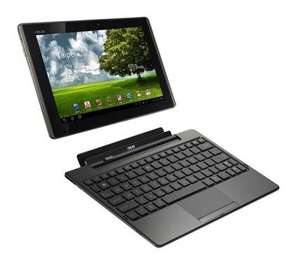 Review: Eee Pad tablet transforms into laptop (AP)