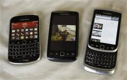 Review: New BlackBerrys improved, but lackluster (AP)