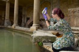 Roman Baths algae could fuel the future (w/ video)