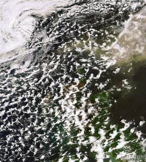 Satellite observations show potential to improve ash cloud forecasts