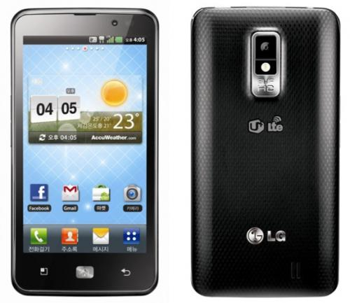 S. Korea's LG unveils ultra-high-speed smartphone