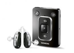 Small remote control for hearing aids with bluetooth