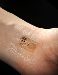 Smart skin: Electronics that stick and stretch like a temporary tattoo