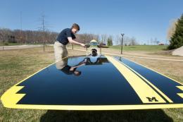 National champion solar car team introduces 2011's Quantum