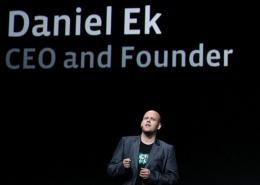 Spotify CEO Daniel Ek, pictured in September