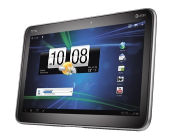 Taiwan's HTC unveils 4G tablet