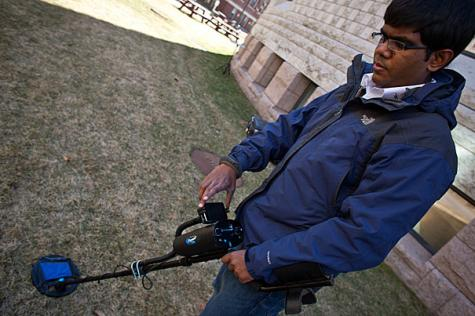 Targeting leftover land mines