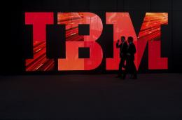 Technology stalwart IBM started its second-century in business with a rise in quarterly earnings