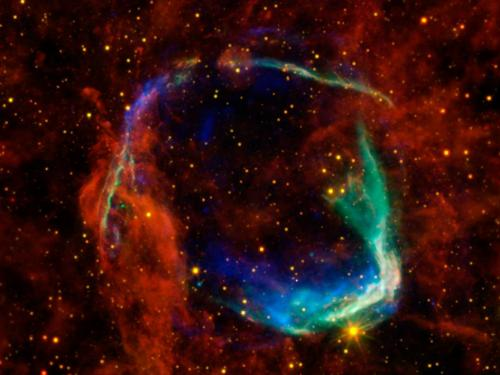 Telescopes help solve ancient supernova mystery