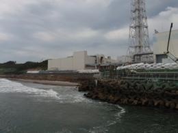 TEPCO-issued photo shows the company's nuclear power plant in Fukushima