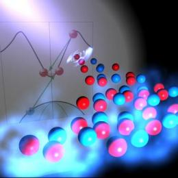 Terahertz pulse increases electron density 1,000-fold