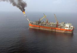 The FPSO (Floating, Production, Storage and Offloading) Bonga unit