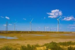 The loan will help fund the Upington solar park in Northern Cape and the Sere wind farm in Western Cape province