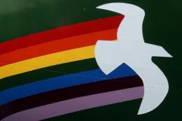 The logo of Greenpeace's