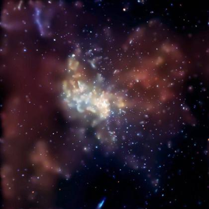 The milky way's supermassive black hole