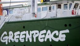 The new ship is heading to its home port and home of Greenpeace's headquarters in Amsterdam