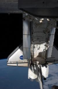 The shuttle will remain at the space station until May 30, before returning to the United States on June 1