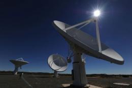 The Square Kilometre Array is an instrument that would be able to look back to the infancy of the universe