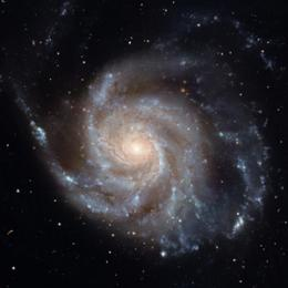 The universe may have been born spinning, according to new findings on the symmetry of the cosmos