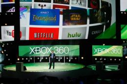 The Xbox 360 media briefing on the eve of the Electronic Entertainment Expo n Los Angeles