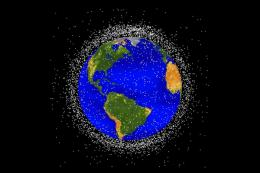Tiny bits of debris are a big problem in space, says  Stanford professor in report on 'space junk'