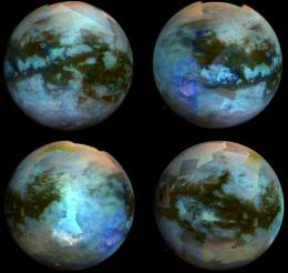 Titanic Jigsaw Challenge:  Piecing together a global colour map of Saturn's largest moon