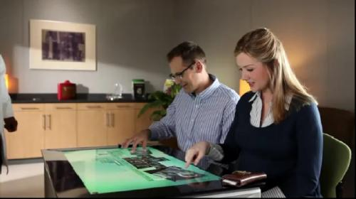 Touchscreen table computer SUR40 starts pre-orders