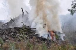 Turning slash piles into soil benefit