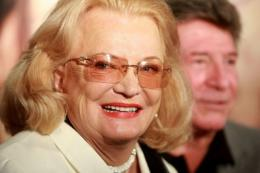 Two-time Oscar-nominated Gena Rowlands, 81, stars in