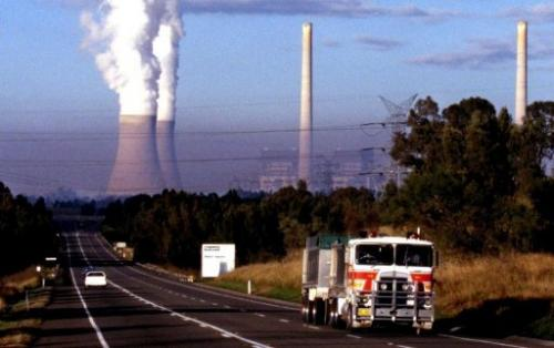 Under an Australian government scheme about 500 of the country's top polluters will pay for carbon dioxide emissions