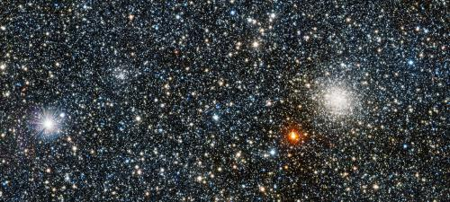 VISTA finds new globular star clusters and sees right through the heart of the Milky Way