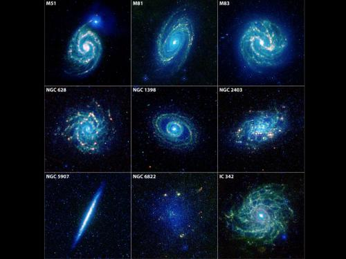 WISE mission offers a taste of galaxies to come