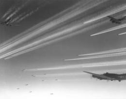 World War II bombing raids offer new insight into the effects of aviation on climate