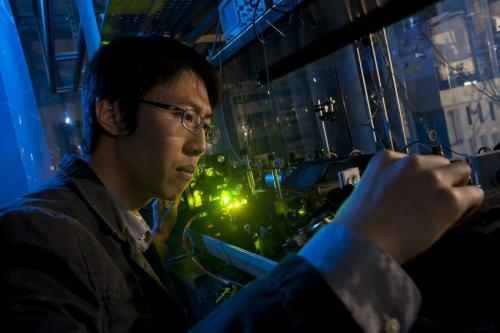 Rice lab mimics Jupiter's Trojan asteroids inside a single atom