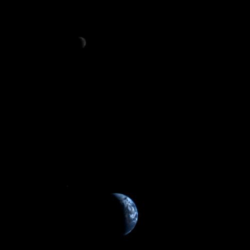 35 years ago: Our first family portrait of the Earth and Moon