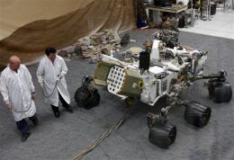 Alien-sounding lingo accompanies US Mars mission