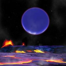 Astronomers spy two planets in tight quarters as they orbit a distant star