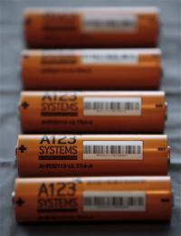 Battery maker A123 files for bankruptcy protection
