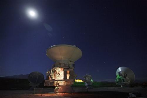 Chile's ALMA probes for origins of universe
