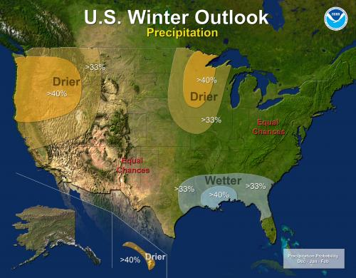 Elusive El Niño challenges NOAA's 2012 US winter outlook