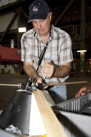 Engineers test rotor landing for capsules