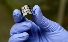Folding light: Wrinkles and twists boost power from solar panels