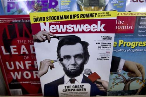 Going out of print, Newsweek ends an era