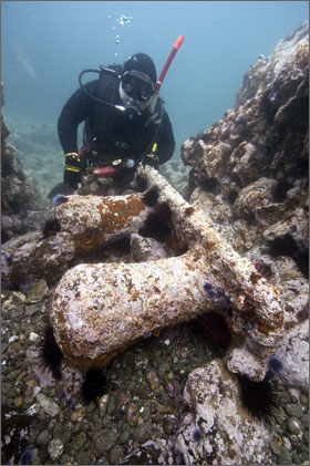 Historic shipwreck discovered at the Channel Islands
