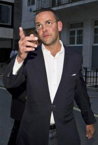 James Murdoch steps down as BSkyB chairman (AP)