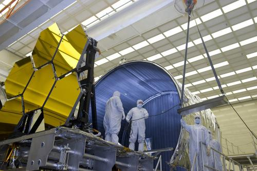James Webb space telescope's mirrors get 'Shrouded'