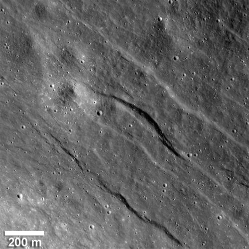 Lunar Reconnaissance Orbiter reveals recent geological activity on the Moon