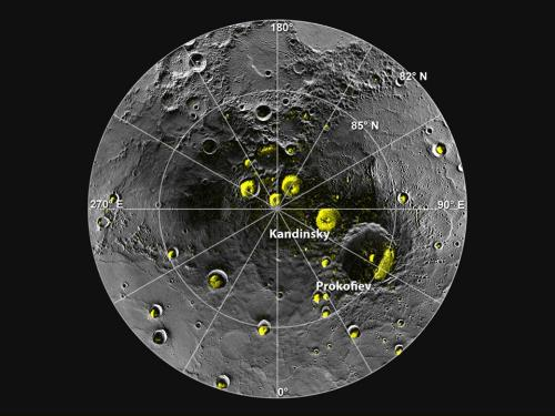 MESSENGER finds new evidence for water ice at Mercury's poles